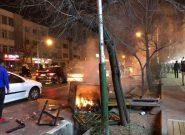 خساراتی که به استان تهران وارد شد/ تخریب وحشتناک اموال عمومی