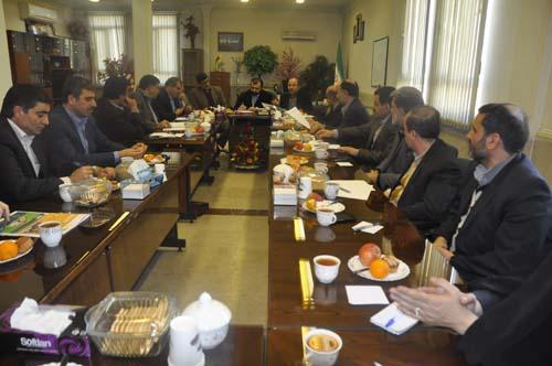 نشست هیئت امنای بیمارستان امام خمینی (ره) شهرستان شهریار برگزار شد