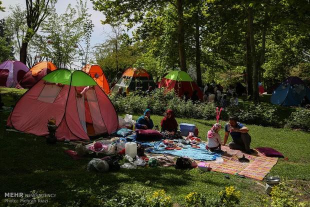 ۴۶ نفر در تهران در روز طبیعت به مراکز درمانی انتقال یافتند