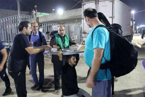 خدماتدهی موکبهای استان تهران در عراق