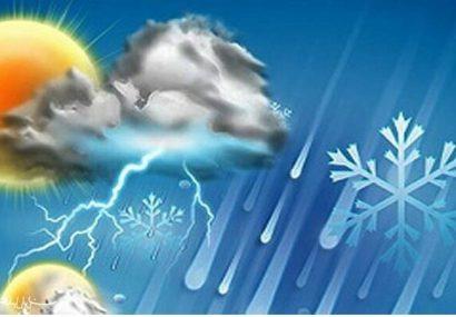 ادامه بارشها در تهران /کاهش ۱۰ درجهای دما