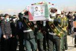 مراسم تشییع پیکر شهید امنیت «احمد حبیبیفر»در شهریار برگزار شد