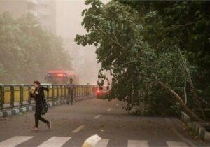 کاهش نسبی دما/وزش تند باد موقت در استان تهران پیش بینی می شود