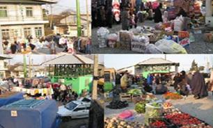 آغاز عملیات احداث بازار روزهای محله ای شهر اندیشه