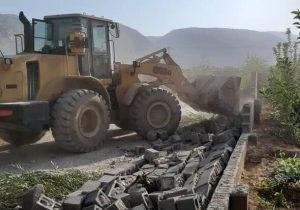 تخریب ویلاهای غیرمجاز در «شاهد شهر» و «فردوسیه» شهریار