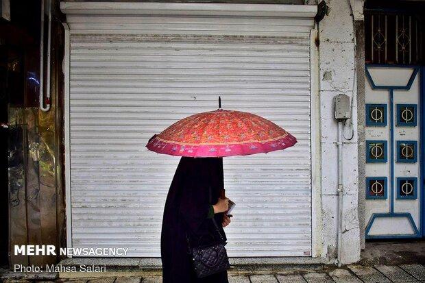 آغاز بارندگیها در کشور از فردا/ تهران سردتر میشود