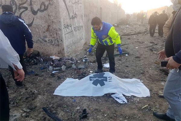 همه مسافران هواپیمای اوکراینی فوت کردند