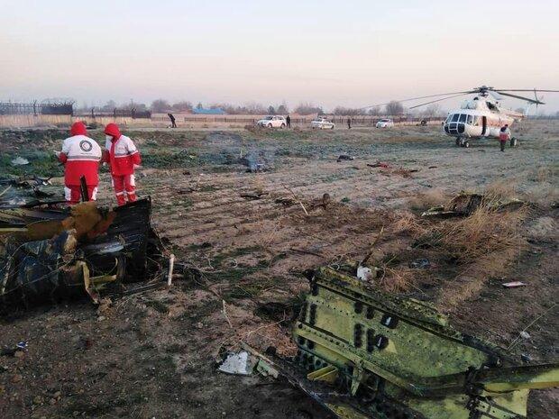 یک فروند بوئینگ ۷۳۷ اوکراینی حوالی شهریار سقوط کرد