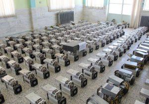 کشف مزرعه ارز دیجیتال ملارد/۱۱۷۳ دستگاه به ارزش۸۰میلیارد توقیف شد