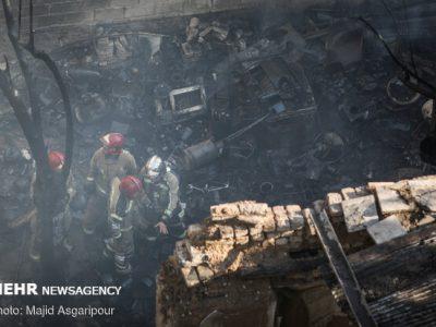 انفجار در ساختمان ۳ طبقه در نسیم شهر/یک نفر فوت و ۲۰ تن زخمی شدند