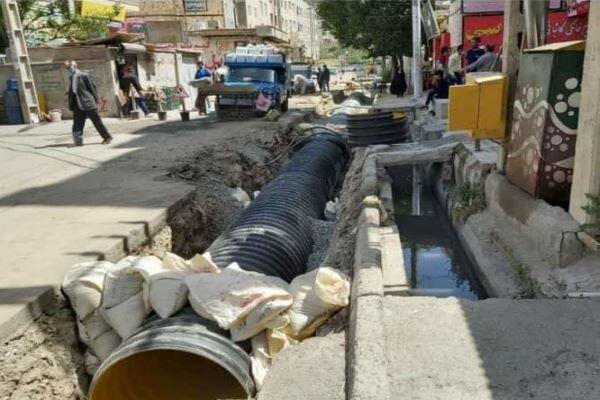 مشکل ۳۰ ساله آبگرفتگی مناطقی از شهر قدس حل شد