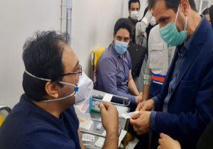 عملیات واکسیناسیون کرونا در شهریار آغاز شد