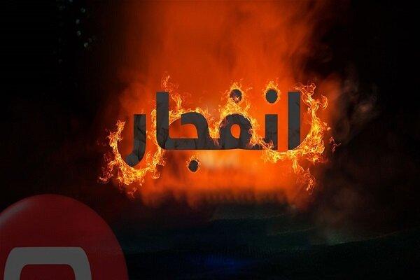 انفجار انبار لاستیک در ملارد
