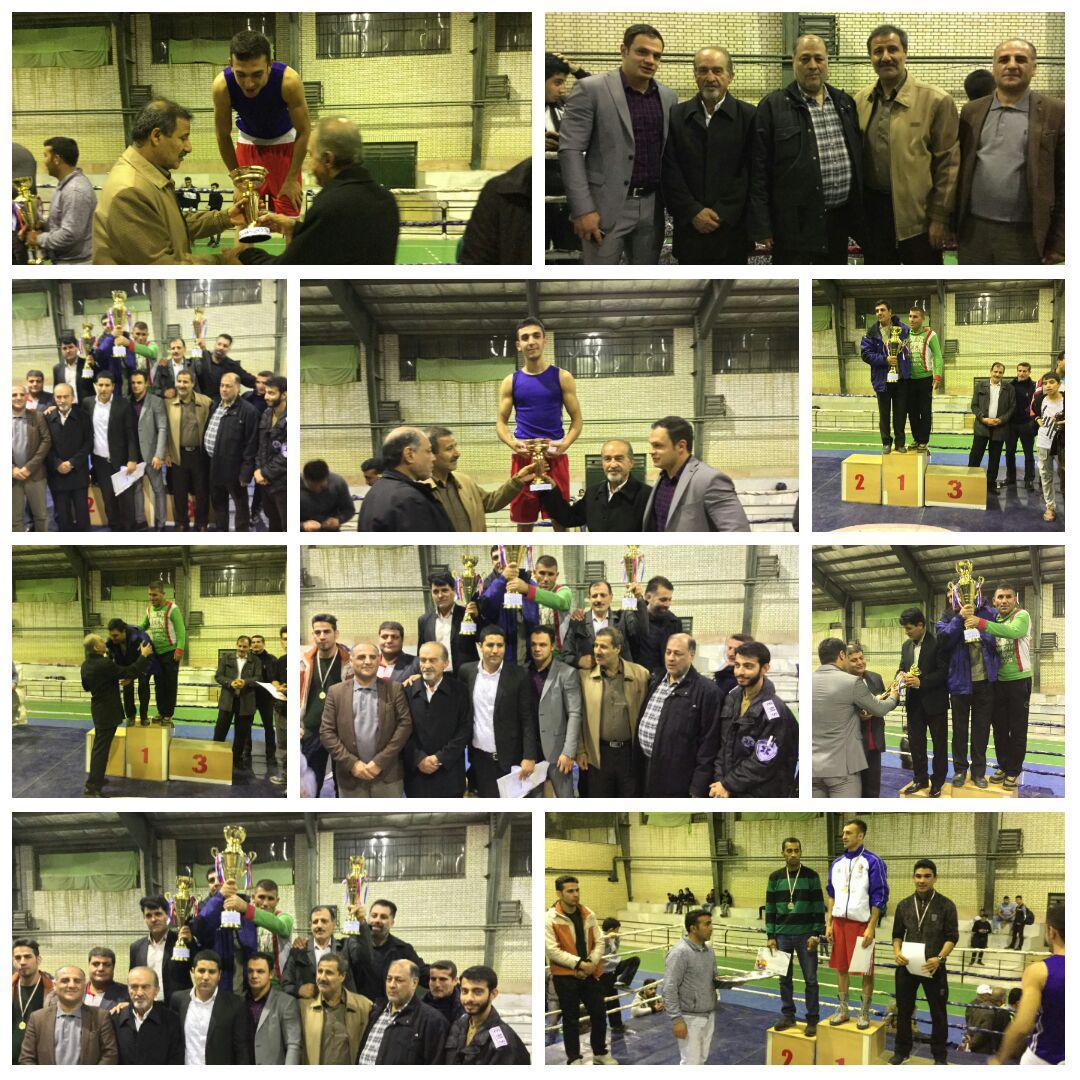 مسابقات بوکس قهرمانی بزرگسالان توابع استان تهران انتخابی کشور در باغستان