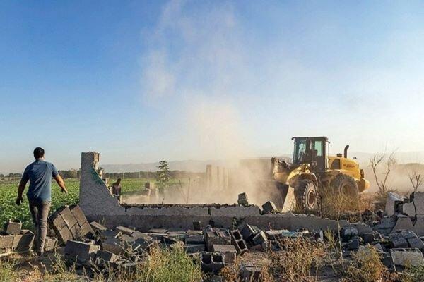 قلع و قمع ۳۰ مورد ساخت و ساز غیر مجاز در ملارد