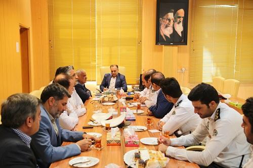 جلسه مشترک مهندس رهنما شهردار شهریار با عوامل راهور شهرستان شهریار