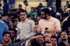 جوانان بیت امام(ره) یکباره استقلالی شدند