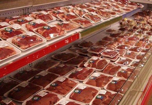 وضع بازار گوشت و میوه در شب عید