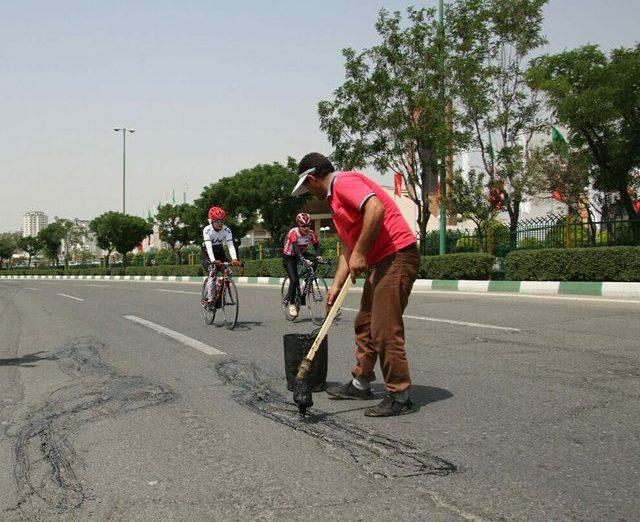 قمری: دور مجموعه آزادی برای دوچرخه سواران ۲ ماه دیگر آسفالت میشود
