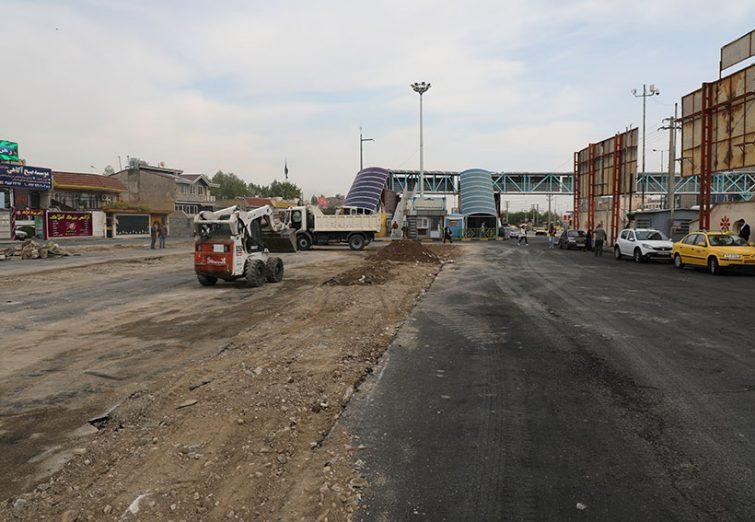 عملیات پروژه پایانه مدرن فاز ۳ شهر اندیشه آغاز شد