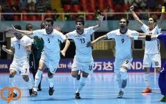 تیم ملی فوتسال ایران به عنوان سومی جهان رسید ؛ بچه ها متشکریم!