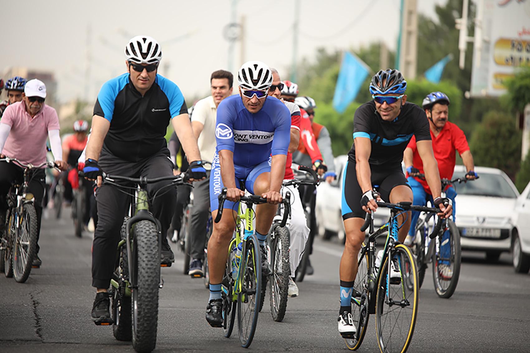 مسابقات دوچرخه سواری جایزه بزرگ لغو شد