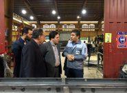 بازدید از کارخانه سازه گستر مدحت به مناسبت هفته معلولین در ملارد