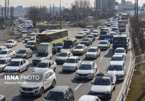 ترافیک پل فردیس فعلاً تمام شدنی نیست!