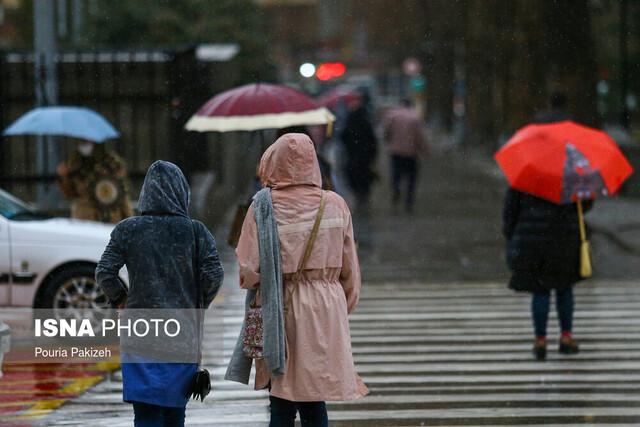 هشدار هواشناسی نسبت به تشدید فعالیت سامانه بارشی