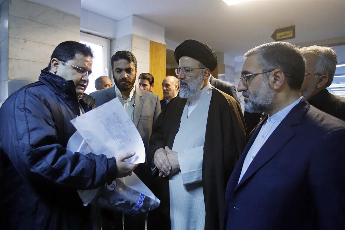 رئیس قوه قضائیه از دادگستری شهرستان شهریار بازدید کرد