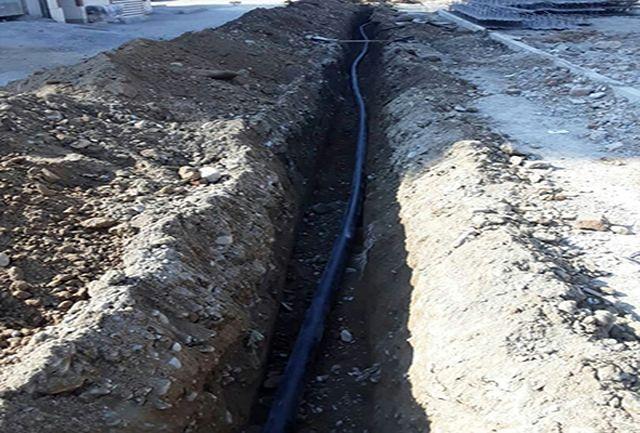 اجرای اصلاح شبکه آبرسانی در شهر امیریه شهرستان شهریار