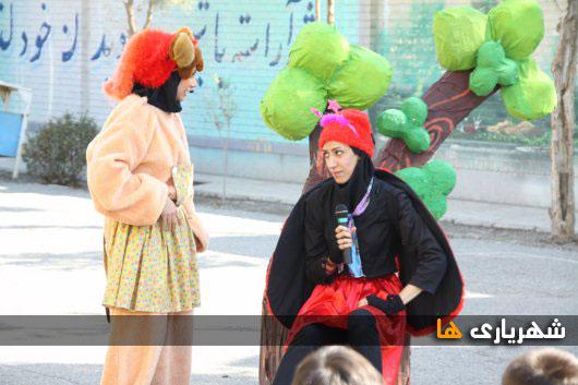 برگزاری نمایش عروسکی توسط معاونت اجتماعی شهرداری شهریار