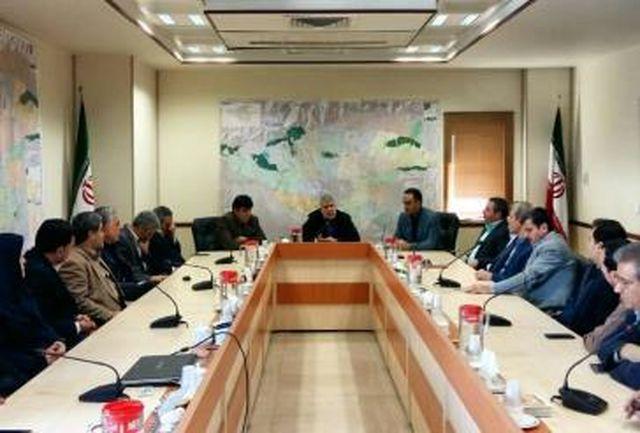 نشست معارفه معاون جدید امنیتی و انتظامی استانداری تهران برگزار شد