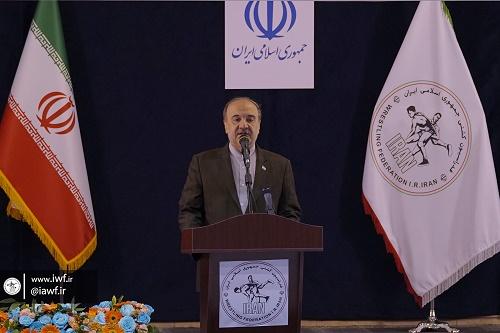 خانه کشتی شهید صدرزاده موجب حفظ آبروی ورزش کشور است