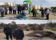 بازدید میدانی از پروژه های منطقه شش اسلامشهر