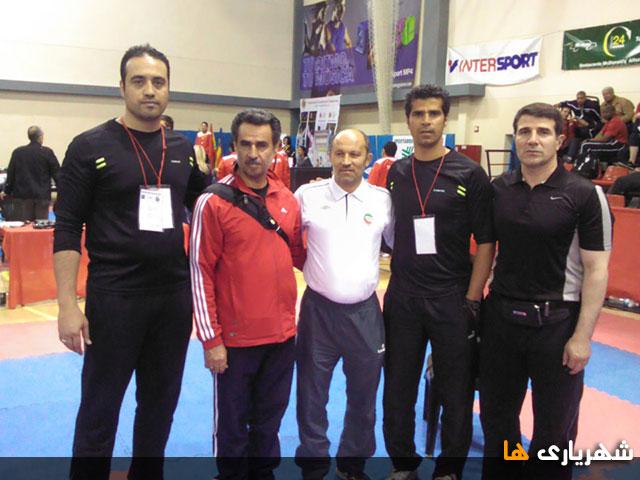 قهرمانی تیم ملی تکواندو در اسپانیا با حضور افتخار آفرینان شهریاری