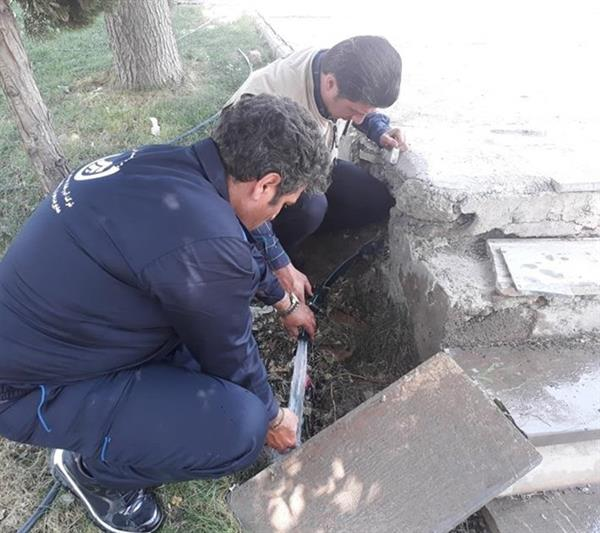 ۹۷رشته انشعاب غیرمجاز آب در باغستان جمعآوری شد