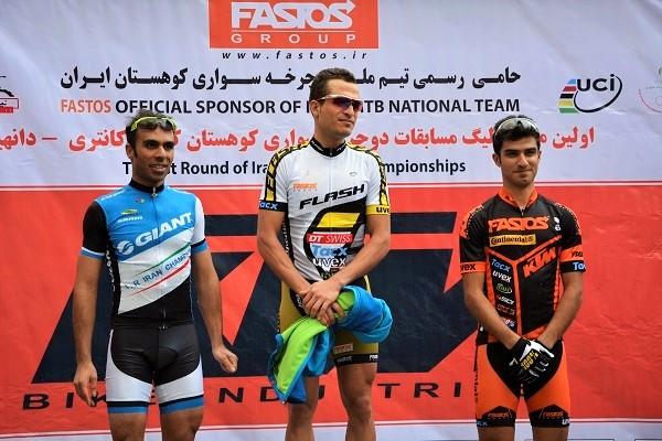 قهرمانی دوچرخه سوار شهریاری در لیگ دوچرخهسواری کوهستان کشور