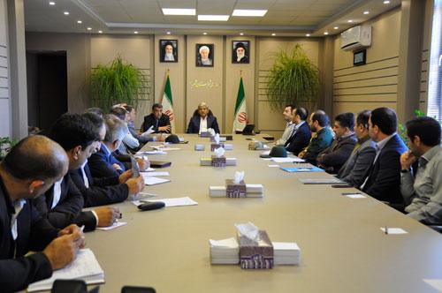 برگزاری دومین جلسه شورای ورزش شهرستان شهریار در محل فرمانداری
