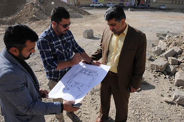 عملیات ساخت اولین پروژه زمین فوتبال ساحلی در سطح شهرستان شهریار