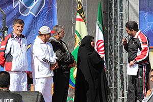 گزارش تصویری / همایش پیاده روی هفته نیروی انتظامی در شهریار