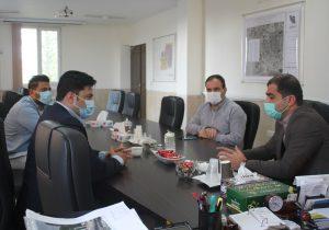 دیدار و گفتگوی دکتر رهگذر با مدیرعامل سازمان پسماند شهرداری ملارد