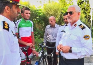 امیرحسین حسینی؛آرزوی هر دوچرخه سواری پوشیدن لباس مقدس تیم ملی است