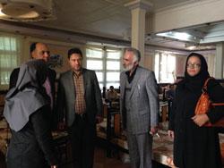 بازدید از مراکز بیماران روانی مزمن به مناسبت هفته سلامت روان در شهرستان ملارد