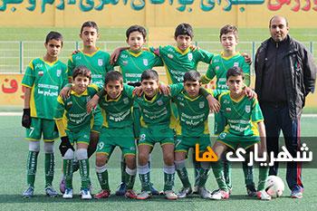 گزارش تصویری / لیگ نونهالان زیر 14 سال شهرستان شهریار
