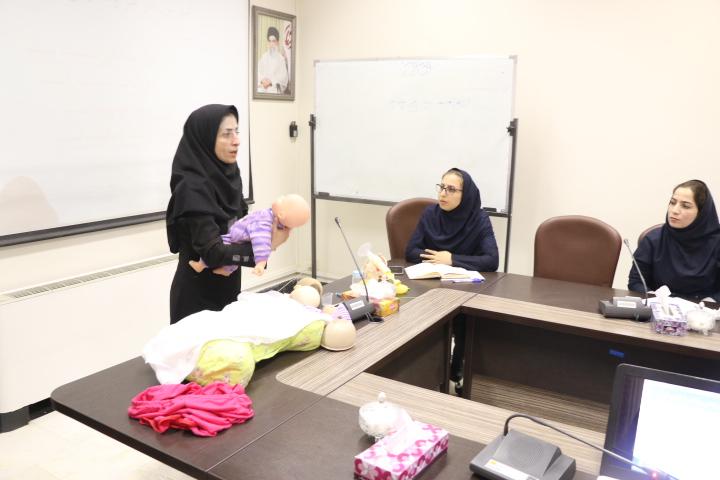 کارگاه عملی شیر مادر ویژه مربیان کلاس آمادگی زایمان شهریار