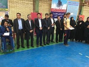 برگزاری جشنواره ورزشی معلولین به منا سبت هفته بهزیستی درشهرستان ملارد
