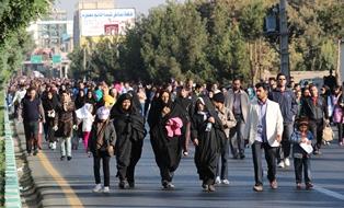 همایش بزرگ پیاده روی خانوادگی در شهریار برگزار شد