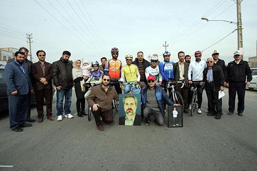 رقابت های انتخابی تیم ملی دوچرخه سواری معلولین یادواره مرحوم عسگری در شهریار