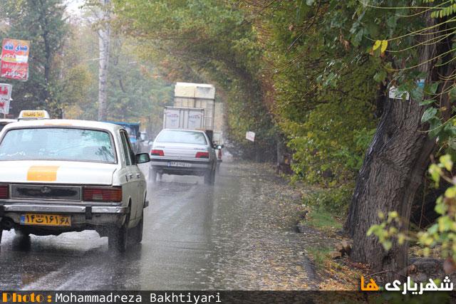 تصاویری زیبا از فصل پاییز در شهرستان شهریار